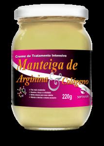 Creme Manteiga de Arginina e Colágeno 220 g