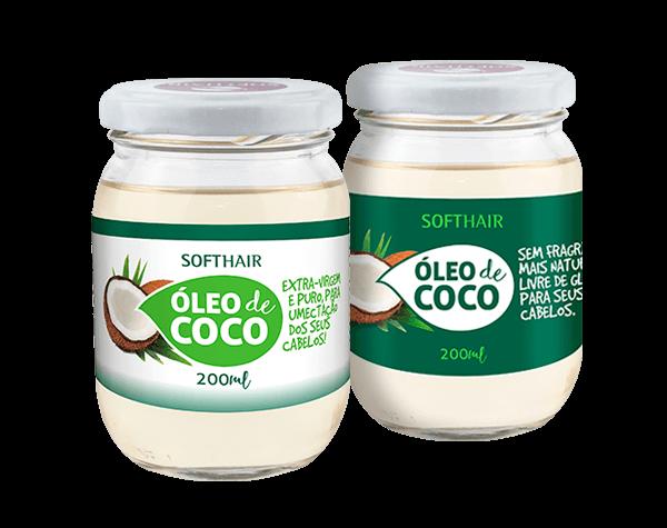 Linha Óleo de Coco - Softhair